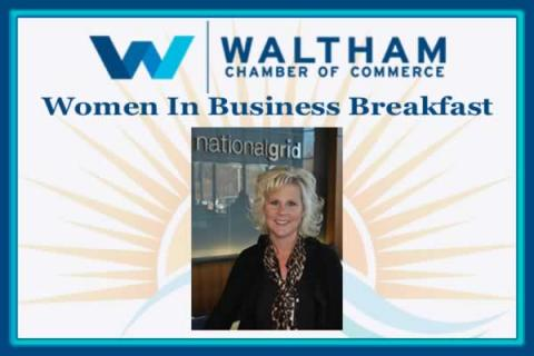 Women in Business Breakfast: Kristin DeSousa, Vice President, Business Planning & Performance – US Electric for National Grid