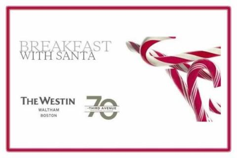 Waltham Westin: A 'Jazzy' Breakfast with Santa