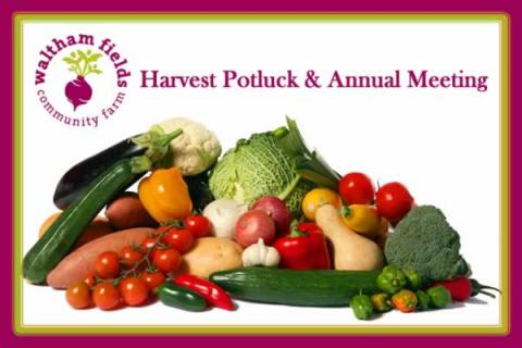 Waltham Fields Community Farm Harvest Potluck & Annual Meeting