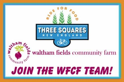 Join the Waltham Fields Community Farm Team in the Ride for Food