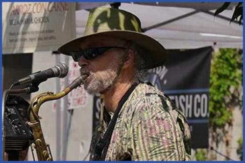 Waltham Farmers' Market In Concert: Dave B & the Hot Shots