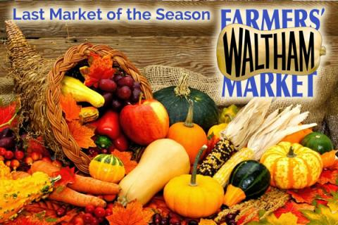 Waltham Farmers' Market's Final Market of the Season