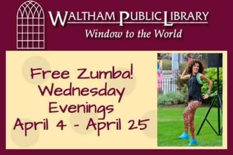 Free ZUMBA at the Library