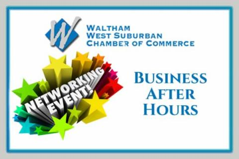 Waltham Chamber Business After Hours Networking Event at NYAJ