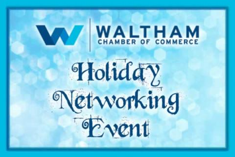 B2B: Waltham Chamber Holiday Networking Event!