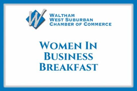 Waltham Chamber: Women In Business Breakfast featuring Waltham Police Officer June COnway