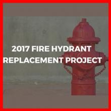 City to Begin Hydrant Replacement Project from August 7 through August 26