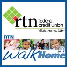 RTN Federal Credit Union Steps it Up for Walk Home 2017