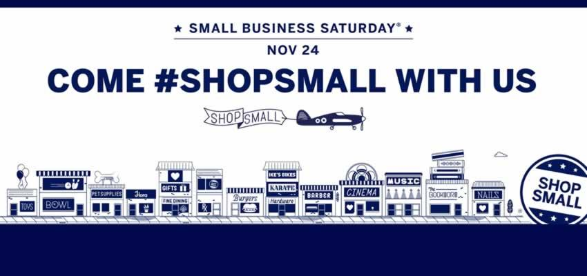 Support Waltham's Small Businesses! #ShopSmall #ShopLocal #ShopWaltham November 24